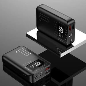 Image 4 - Портативное зарядное устройство 10000 мАч, внешний аккумулятор 10000 мАч с двойным USB портом, Внешнее зарядное устройство для Xiaomi Mi 9 8 iPhone