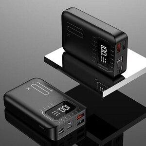 Image 4 - 10000 mAh batterie externe Portable charge PowerBank 10000 mAh double USB appauvrbank chargeur de batterie externe pour Xiao mi mi 9 8 iPhone