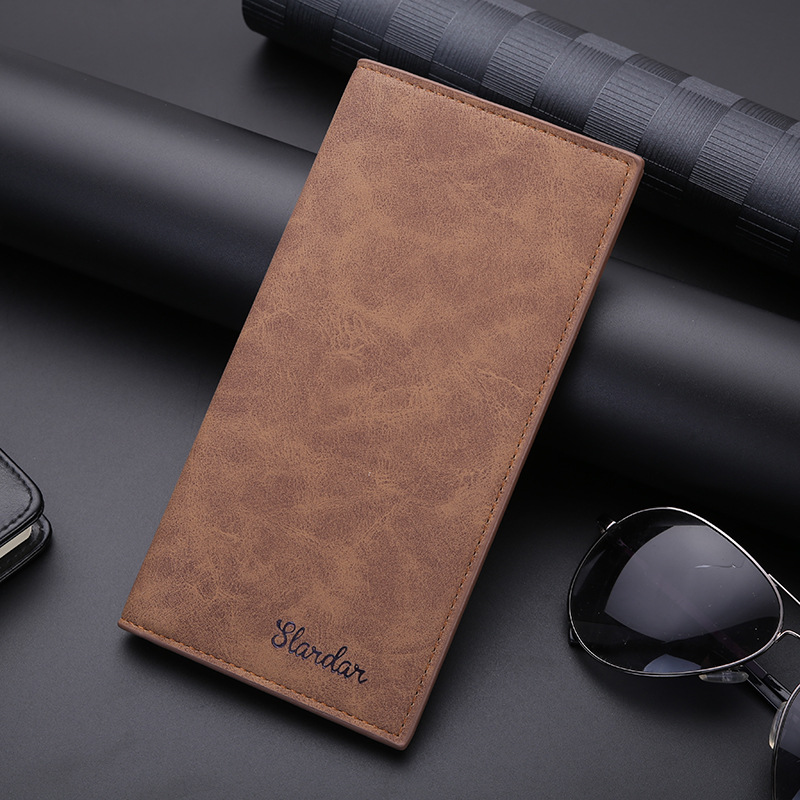Wallets For Men Short Long Slim Thin For Boy Men's Clutch Bag Famous Billetera Men Leather Purse Card Holder Porte Feuille Homme