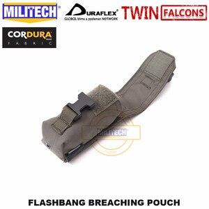 Image 5 - MILITECH taktik Flashbang Breaching kılıfı TWINFALCONS TW delici 500D Cordura yapılmış aksesuarlar çanta flaş duman bombası çantası