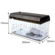 4L Mini desktop paper shredder Anti-skid pad office USB shredder Electric A4 shredder Automatic shredder ZD-001 paper cutter