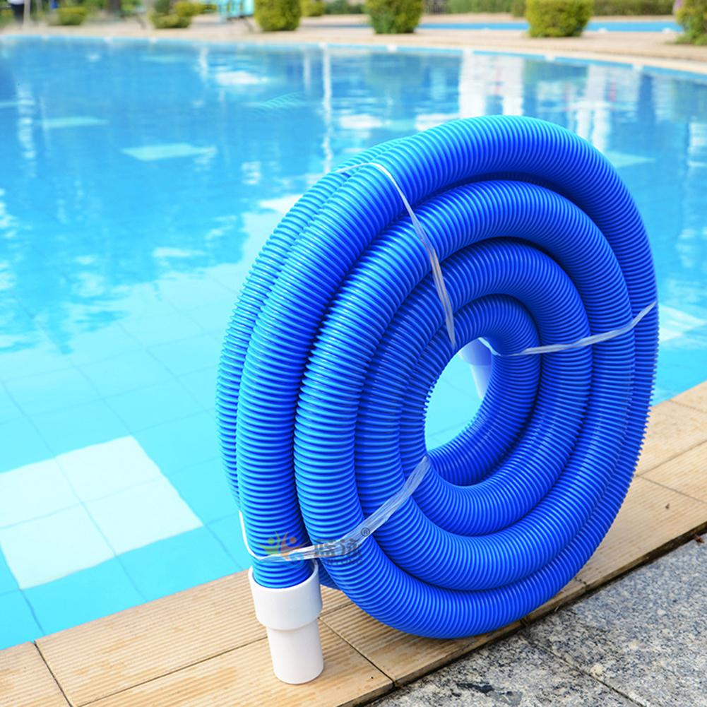 5M/10M New Swimming Pool Vacuum Hose With Swivel Cuff 1.5 Inch Swimming Pool Double Layer Suction Pipe Cleaning Accessories