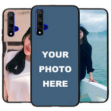 For Huawei P30 Mate Nova Honor 8X 10 V20 20 Pro Custom Personalized Photo Picture images Freestyle Phone Case Cover