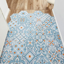 Tapete de pvc estilo moderno laço de seda casa anti-bactérias tapete de porta tapete de porta anti-bactérias