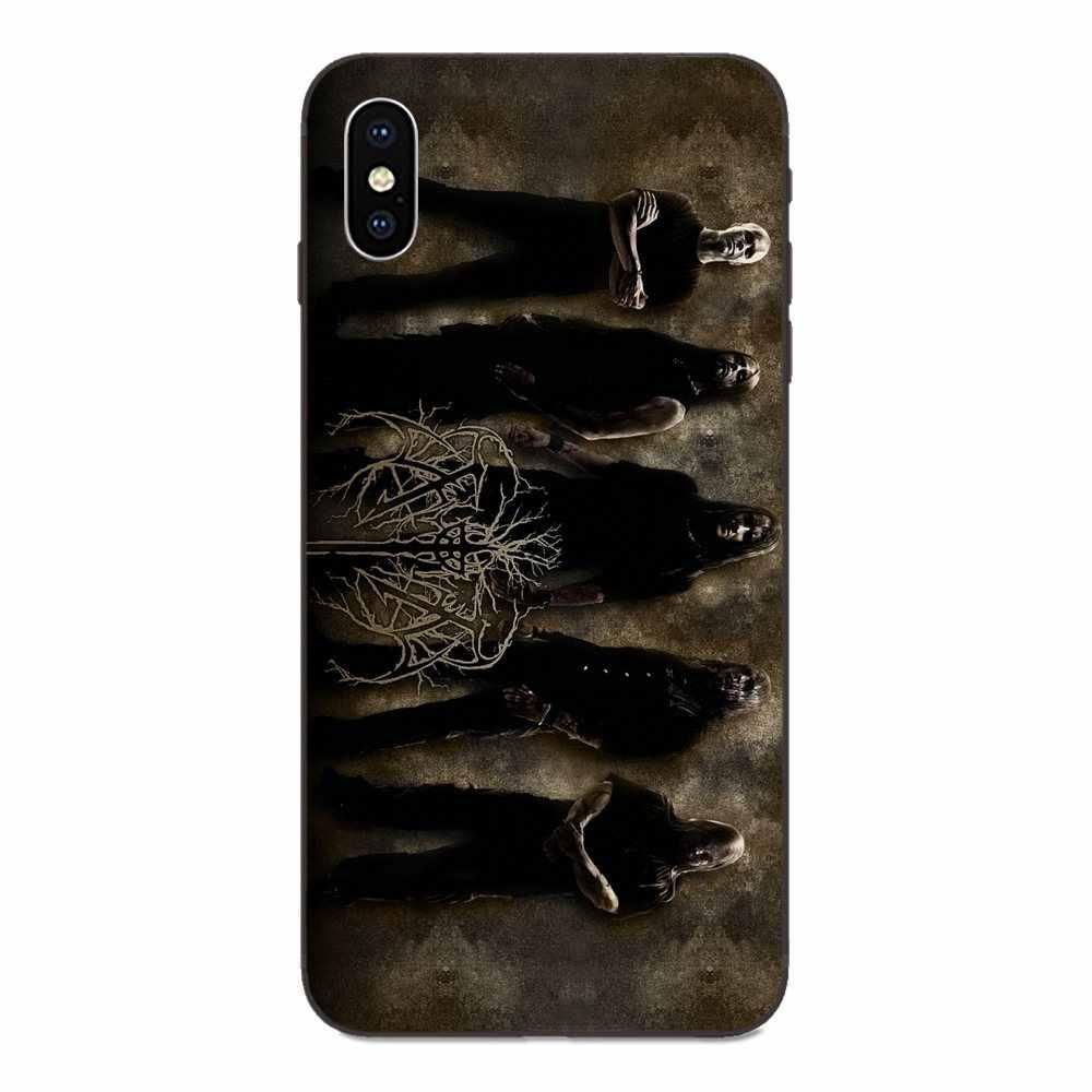 الحموله الموت المعادن الفرقة العملاء مخصص صور لينة جراب هاتف ل ابل اي فون 4 4S 5 5S SE 6 6S 7 8 زائد X XS ماكس XR