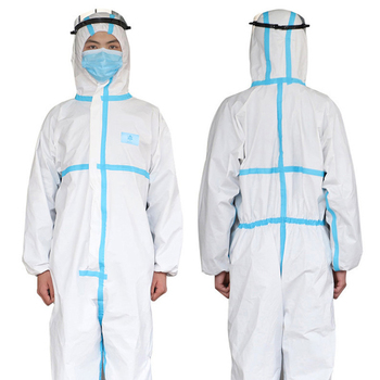 Disposable and Anti Virus Medical Protective Clothing Used as Isolation Suit for Virus Infected Patients