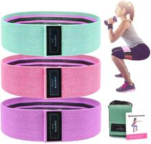 Widerstand Bands fitness widerstand band set Muscle Stretch Training Gummi Schlaufen Natur Latex Bands(China)