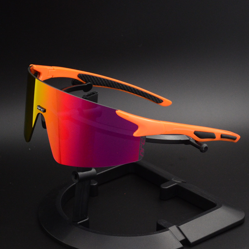 NRC cycling glasses outdoor riding glasses men and women sports running sunglasses mountain bike windproof colorful sunglasses