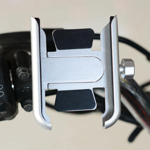 Image 3 - 360 grad Universal Metall Bike Motorrad Spiegel Lenker Smart Telefon Halter Stehen Halterung Für iPhone Xiaomi Samsung 4 6,5 zoll P