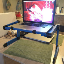 Bed-Tray Computer-Stand Laptop-Table Folding Aluminum-Alloy Dormitory Students