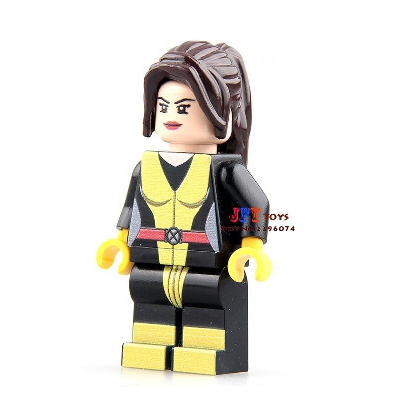 Single Sale Superhero Marvel Shadowcat X Men Building Blocks Model Bricks Toys For Children Action Figures