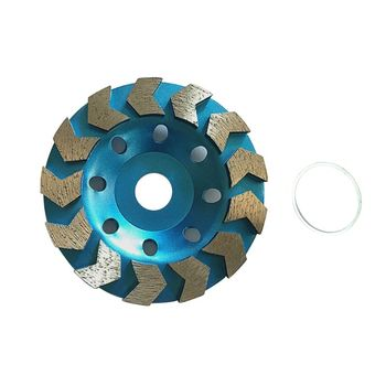125mm Diamond Segment Grinding Sheet Wheel Concrete Marble Granite Cutting Disc 5 inch 125mm single row cup wheel for concrete grinding disc grinding wheel bore 22 23mm