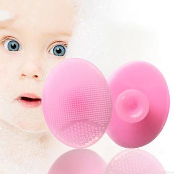 Szczotki do kąpieli dla dzieci masaż myjka do twarzy silikonowy złuszczający zaskórnik szczotka do czyszczenia twarzy prysznic do kąpieli płyn do demakijażu Dropship TSLM1 tanie i dobre opinie Firstsun Twarzy mydło Unisex Brak YS=75028 Chiny Ultrasound as shown outdoor travel family Face Clean