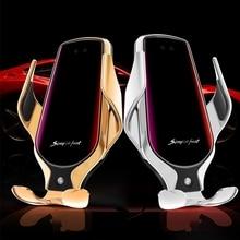 2020 Mới Tề QC Xe Bộ Sạc Không Dây Cho Iphone 11 Samsung Xiaomi Gắn Trên Xe Hơi Cảm Ứng Hồng Ngoại 10W Sạc Nhanh giá Đỡ Điện Thoại Ô Tô