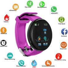Bluetooth Smart Watch Blood Pressure Round Smartwatch Men Women Watch