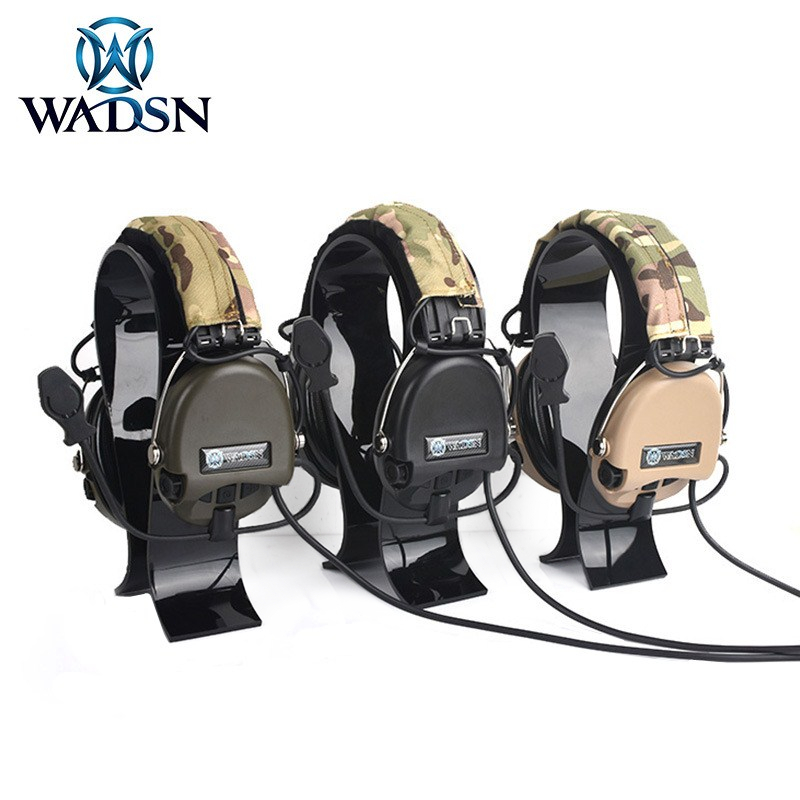 WADSN Sordin Solarin MSA Noise Reduction Outdoor Sports Tactical Headphones