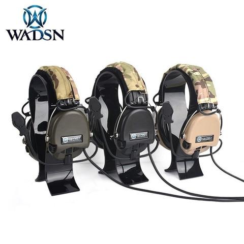 wadsn sordin solarin msa reducao de ruido esportes ao ar livre fones de ouvido