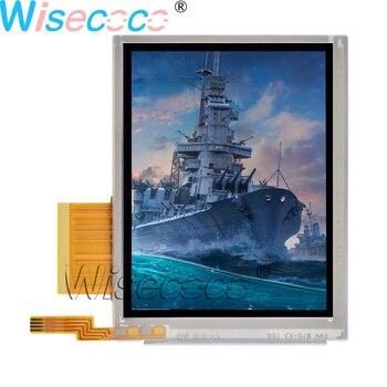 Nueva pantalla LCD original de 3,5 pulgadas 240*320 con pantalla táctil resistente digiziter 50 pines T-51963GD035J-MLW-AGN de mano y PDA
