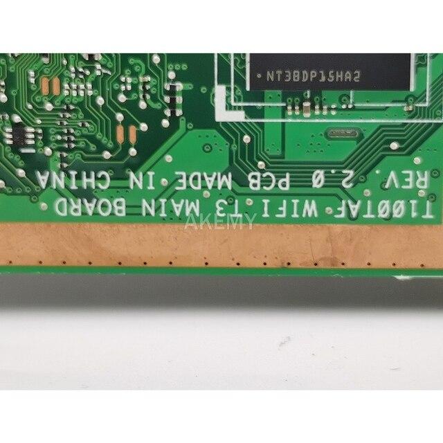 T100TAF carte mère pour For Asus T100TAF tablette carte mère T100TAF carte mère Test 100% OK Z3735F CPU 32GB SSD