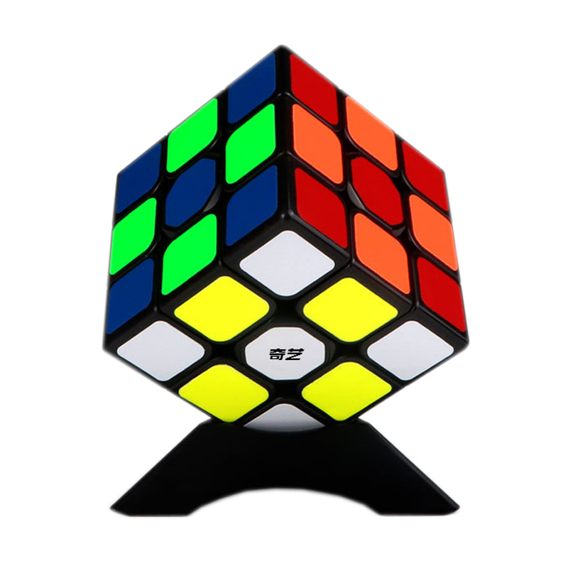 QIYI QIHANG W 56mm 3x3x3 Speed Cube Toys For Adults Magic Cubes Professional Magico Cubo Educational Game 3x3 Puzzle