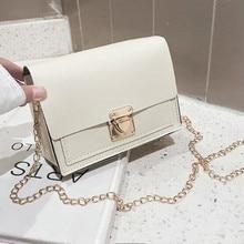 Fashion new handbags High quality PU leather Women bag Small incense wind chain Lozenge Shoulder bag Lock Stereotypes lattice