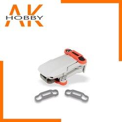 Quick Release silikonowy uchwyt wiosła dla DJI Mavic Mini Drone łopatki śmigła uchwyt stabilizator rekwizyty ochronne uchwyt mocujący w Drony z kamerą od Elektronika użytkowa na