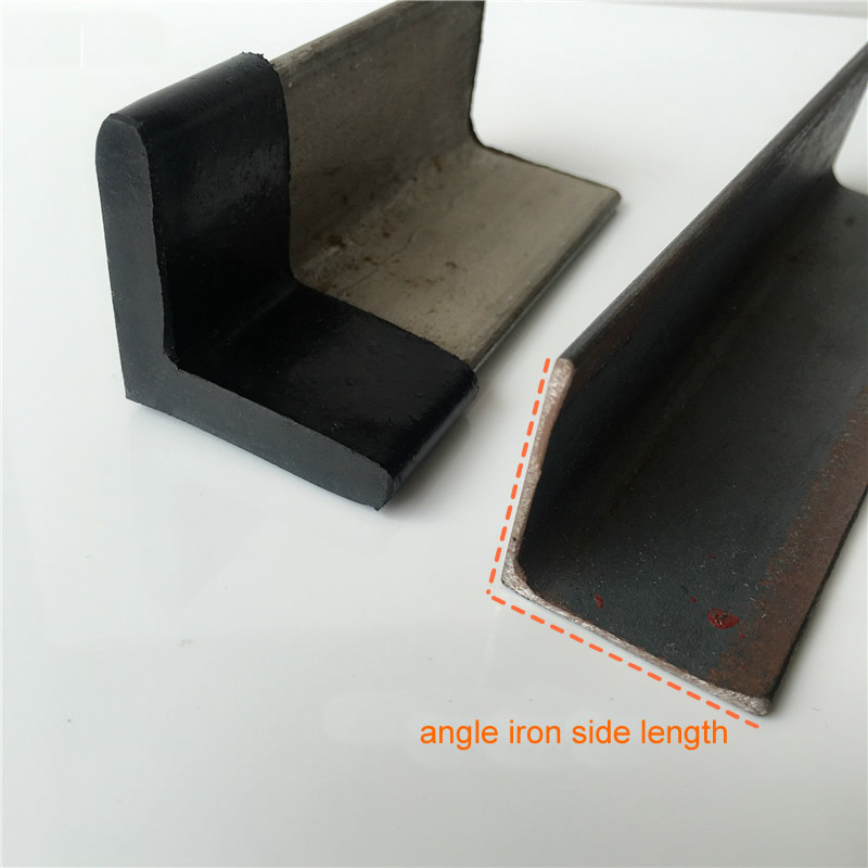 20PCS Triangle Rubber Covers Anti Scratch Furniture Shelf Table Chair Feet Leg Floor Protector Caps Angle Iron End Cap