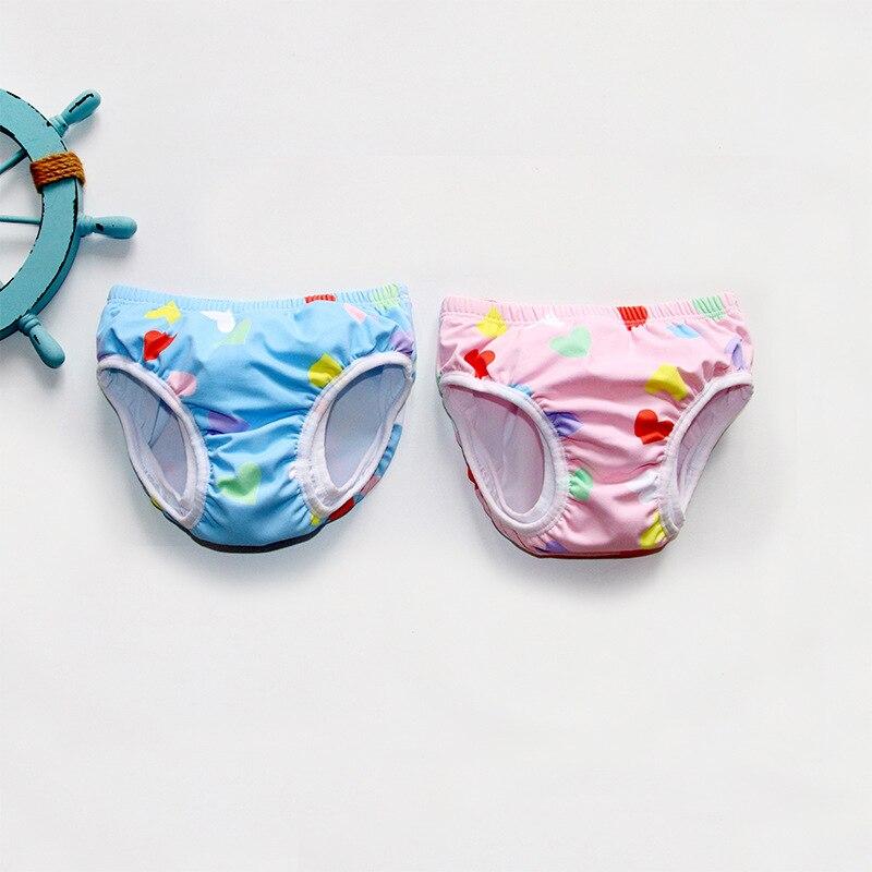 2019 г. Новые стильные милые детские плавки модные горячие пружины защита от утечек, детские плавки Ma