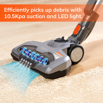 EASINE by ILIFE H55 Handheld Cordless Wireless Vacuum Cleaner 10.5KPa Suction Power, 35 Mins WorkingTime litter Clean Appliance 2