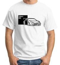 Japanese Classic Legend Car Brz T Shirt Jdm Body Kit Spoiler Tail Lights Exhaust Headlight Turbo Male Pattern O-Neck