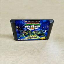 거북이 하이퍼 스톤 강도 MegaDrive Genesis 콘솔 용 16 비트 MD 게임 카트리지