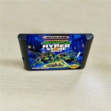 Turtles en hiper taş Heist   16 bit MD oyunları kartuşu için MegaDrive Genesis konsolu