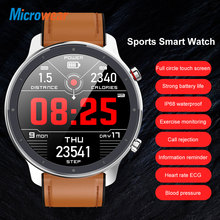 Smartwatch L11 Microwear Full Touch Screen Sport Tracker Heart Rate bluetooth IP68 Waterproof
