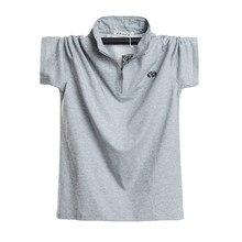 Polo Shirt Men Oversize 5XL 6XL Top Quality Men's Regular-fit 100% Cotton Pique Polo Shirt Men's Casual Loose Fat Tops