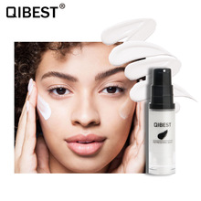 QIBEST Face Liquid Foundation Skin Tone Color Changing Makeup Long Lasting Brighten Full Coverage Concealer Cream Base Cosmetics miss rose makeup concealer full cover face foundation cream natural brighten contouring cosmetics women beauty face base makeup