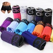 1-4pcs/lot Male Underwear Men Boxer Men's Underpants For Man Panties Comfortable Breathable Cuecas Boxer Homme Sexy Boxer Men