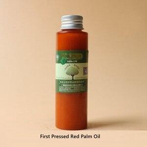 Venda quente primeiro pressionado pele de reparo de óleo de palma vermelha com vitamina e óleo de massagem qualidade superior puro natura