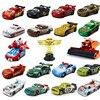 Samochody Disney pixar 3 zabawki zygzak McQueen Matt Jackson Storm Ramirez 1:55 Alloy Pixar Car odlewanie kokilowe metali samochód zabawka dziecięca na prezent