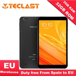 Teclast P80X 4 GTablet Android 9.0 SC9863A IMG GX6250 8 pouces 1280x800 IPS Octa Core 1.6 GHz 2 GB RAM 16 GB ROM double caméra tablette