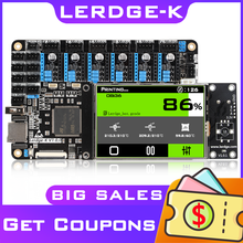 LERDGE 3D Printer Board ARM 32Bit Controller Motherboard Kit Diy parts mainboard PT100 TMC2208 LV8729 TMC2209 for Ender 3 CR10