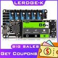 LERDGE 3d плата принтера ARM 32-битная плата управления контроллер материнская плата 3,5-дюймо вый экран Diy частей материнской платы матч PT100 датчик ...