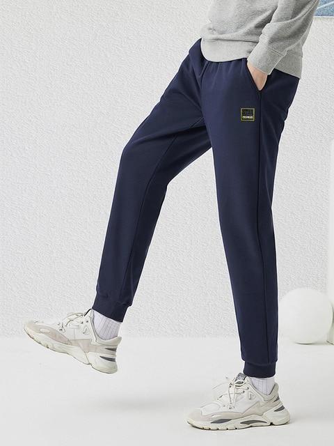Pioneer Camp 2020 Spring New Jogger Pants Men 100%cotton Drawstring Comfortable Elastic Waist Sweatpants AZZ0107025 37