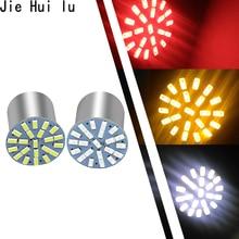 Новые уличные фонари 100 шт автомобильная лампа для стайлинга 1157 1156 Ba15s 22 Led 3014 22smd Led Свет Перевернутый сигнал поворота светодиодный стоп-сигнал