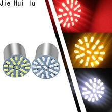 Lampe dextérieur, clignotant inversé, lumière de frein, 100 pièces, 1157 1156 Ba15s 22 1206 Led, 3014, 22smd lumière Led