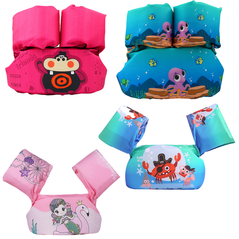 Baby Swimming Arm Ring Foam Pool Sleeves Buoyancy Vest Swimming Pool Puddle Jumper Armlets For Swimming Baby Swimming Ring