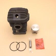 Conjunto de anéis de pistão de cilindro, 42.5mm & 40mm, para motosserra stihl ms250 ms230 025 023 ms 250 230 peças 1123 020 1209, 1123 030 0408