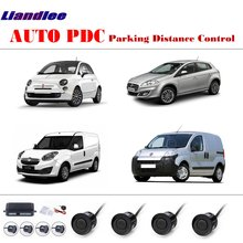 Car PDC Parking Distance Control For Fiat 500/Bravo/Doblo/Fiorino AUTO Parking Sensors System Reverse Camera HD Display free shipping dld 500 good quality traffic inductive loop vehicle detector signal control ground sensors for parking system