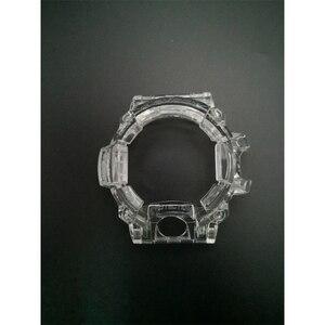 Image 5 - Bracelet et lunette de montre en Silicone, pour GW9400 bracelet de montre, bracelet Transparent et boîtier avec outils