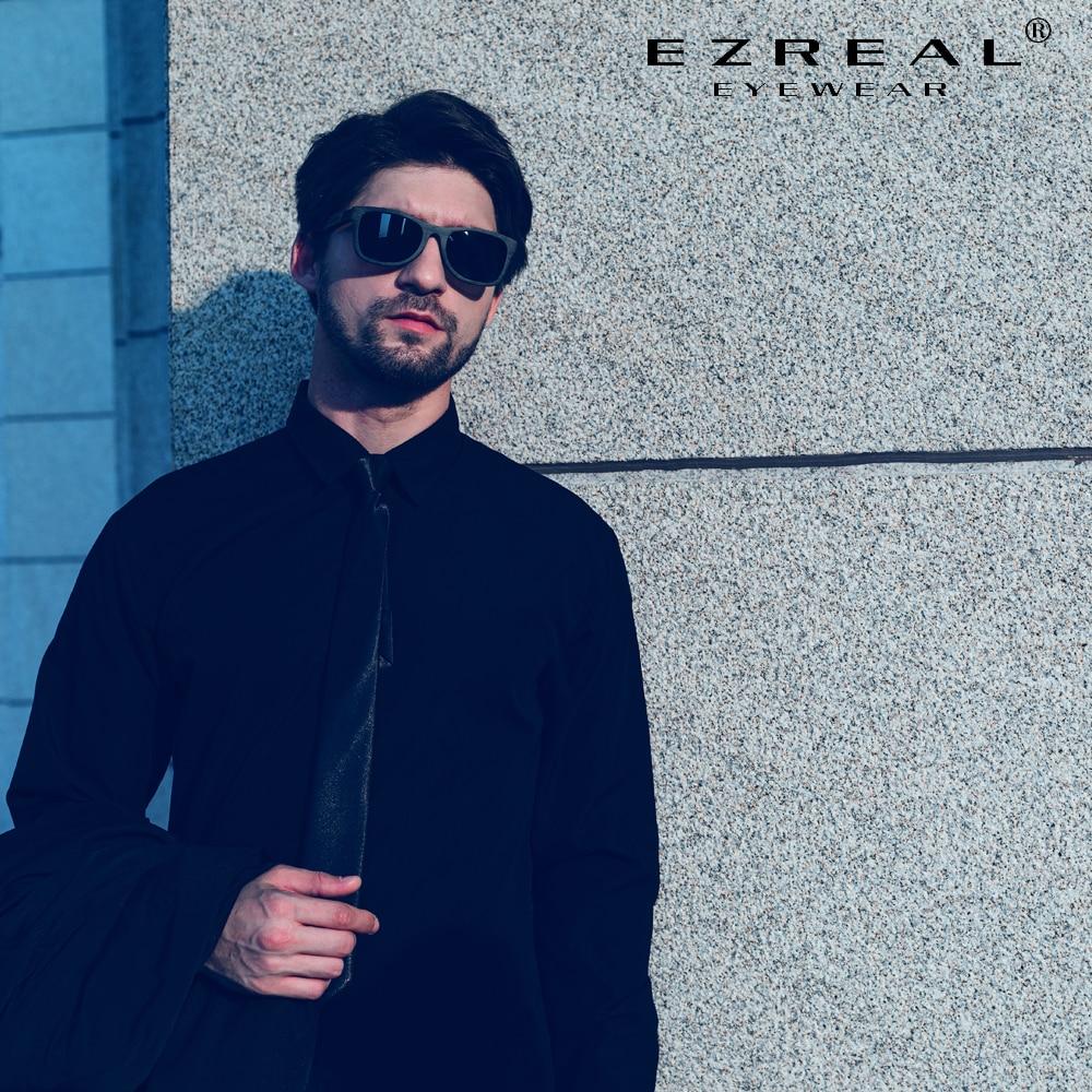 EZREAL Wooden Male Sunglasses Men's Luxury Brand Designer Polarized Sun Glasses Vintage Sunglass Women Eyewear With Round Box|Women's Sunglasses| - AliExpress