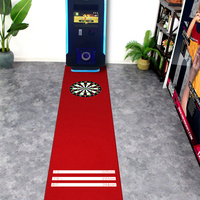 66*300cm Bedroom Carpet Floor Darts Rug Carpets for Modern Living Room Mat Kitchen Vintage Black Red Carpet Room Rugs Doormat